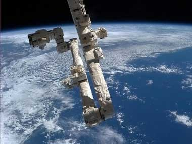 File image of the International Space Station. AFP