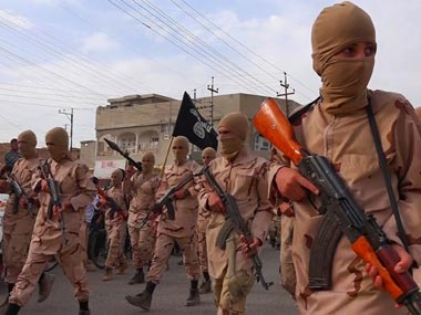 A screengrab of Islamic State fighters. Image courtesy: Inside The Calip