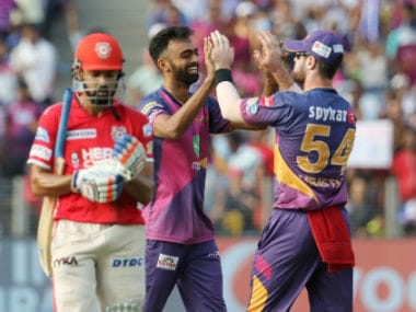 Jayden Unadkat won the Man of the Match award for his efforts with the ball as well as on the field. Sportzpics