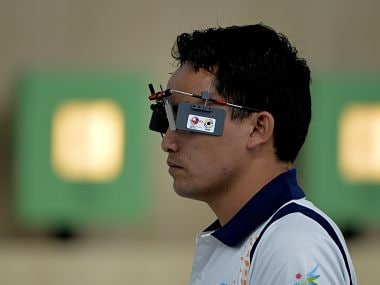 File photo of Jitu Rai. AFP