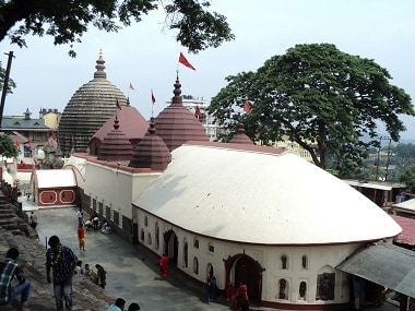File image of the Kamakhya temple in Guwahati. Wikimedia Commons