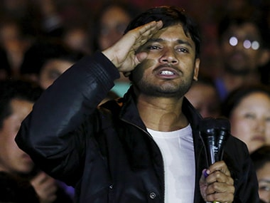 File photo of Kanhaiya Kumar. Reuters.