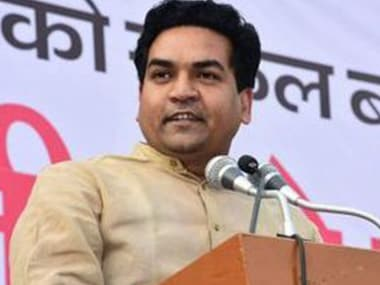 File image of Kapil Mishra. Twitter