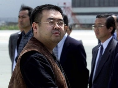 File image of Kim Jong Nam. AP