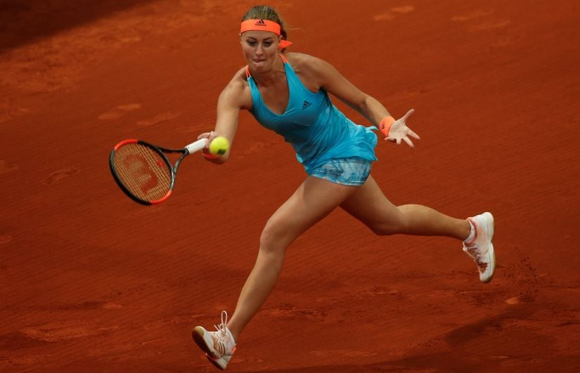 Kristina Mladenovic has won at St Petersburg and finished runner-up at Acapulco, Stuttgart and Madrid this year. Reuters