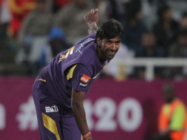 File photo of Kolkata Knight Riders bowling coach Lakshmipathy Balaji. Getty Images