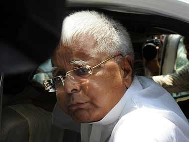 RJD chief and former Bihar chief minister Lalu Prasad. AFP