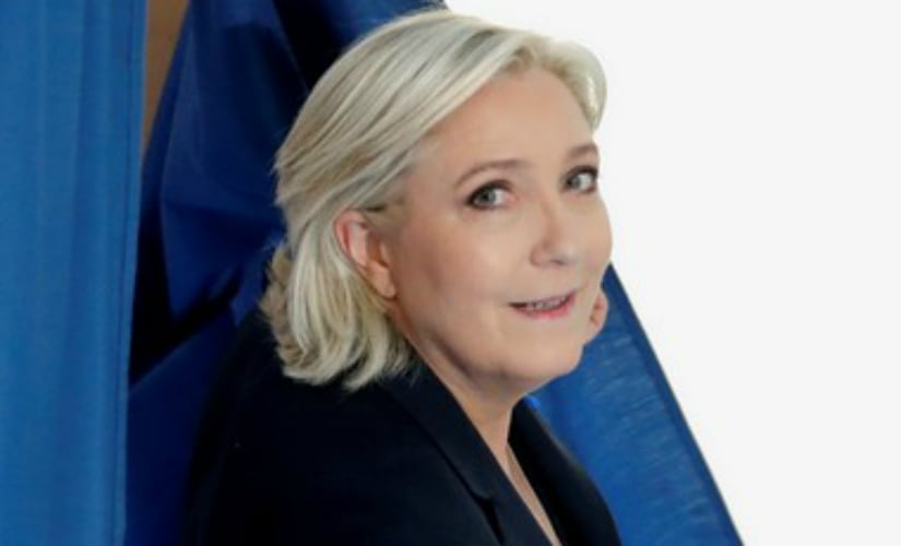 File image of Marine Le Pen. AFP