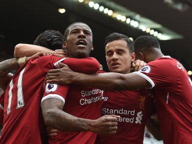 Liverpool recorded an easy 3-0 win over Middlesbrough to finish in the top four places in the Premier League. AFP