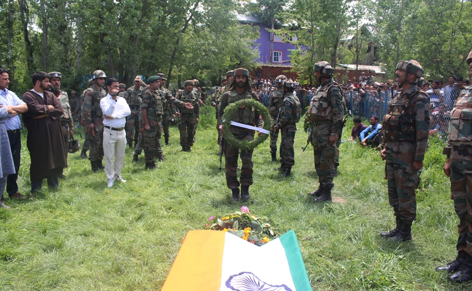 Lt Ummer Fayaz Parry was abducted and later killed by militants on Wednesday in Jammu and Kashmir's Shopian district. His bullet-ridden body was found in Hermain area of Shopian district.
