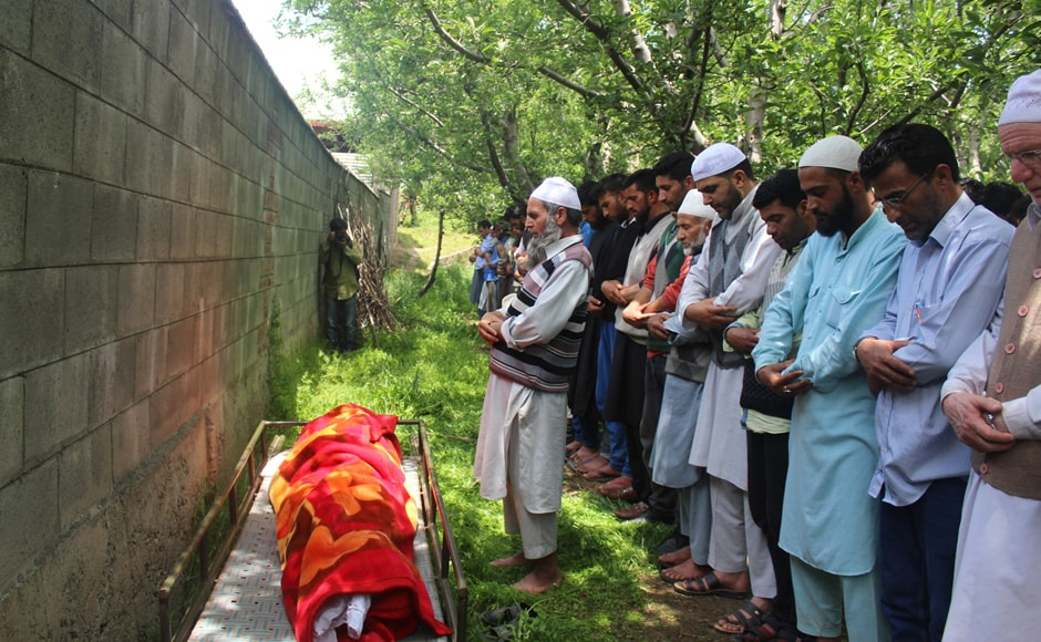 It's the first time that a soldier has been kidnapped and killed from a marriage ceremony in the last 28 years of insurgency in Kashmir. Image courtesy: Indian Army