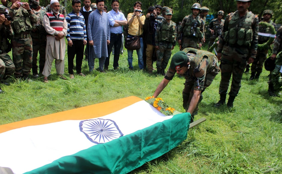 This incident stokes concerns as thus far militants have been indulging in direct face-offs with the security forces. However, targetting army officers, when off duty, and murdering them is not very common. Image courtesy: Indian Army