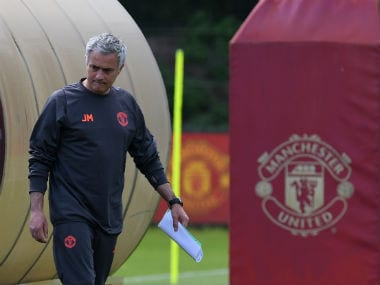 Jose Mourinho backs 'people of Manchester to pull together as one' as United react to the terror attack. AFP