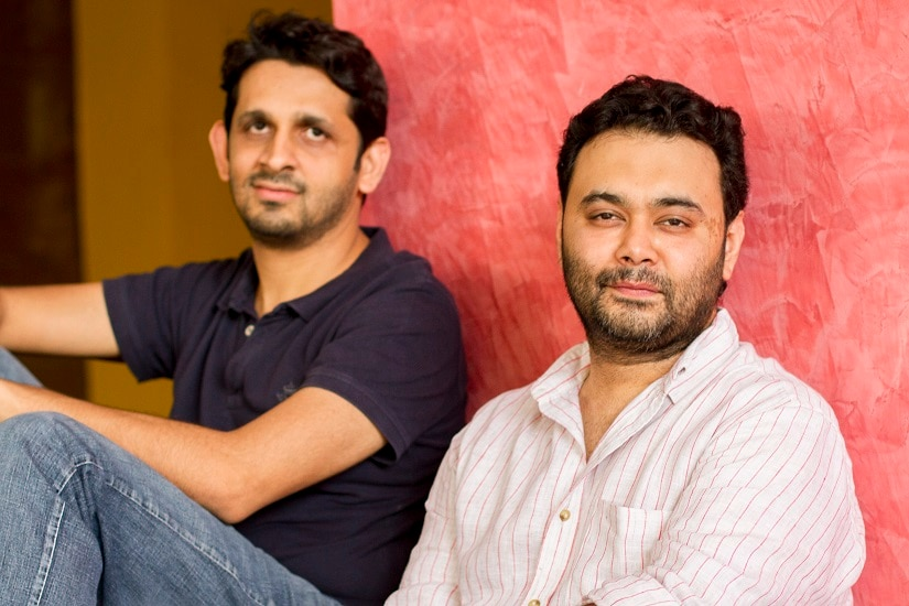 Maneesh Sharma (right) with Akshay Roy, the director of Meri Pyaari Bindu