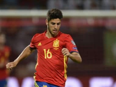 File Photo of Marco Asensio. AFP