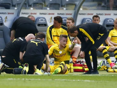 Marco Reus will be out for several months according to the club. Reuters