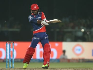 Marlon Samuels of the Delhi Daredevils played only five matches in IPL 2017. Sportzpics