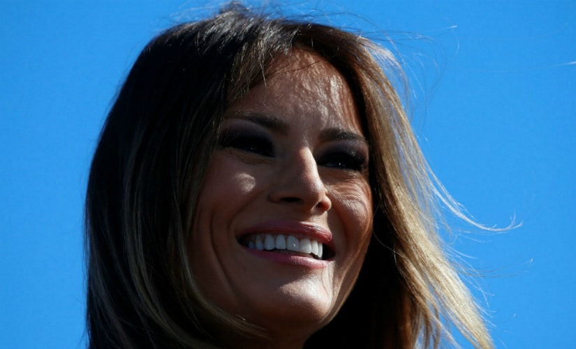 File image of Melania Trump. AFP
