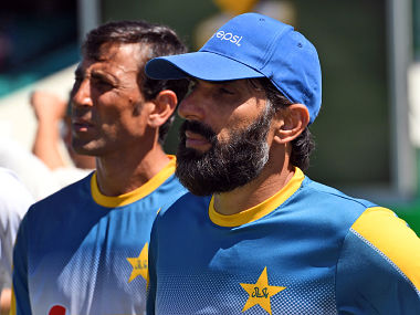 File photo of Misbah-ul-Haq and Younis Khan. AFP
