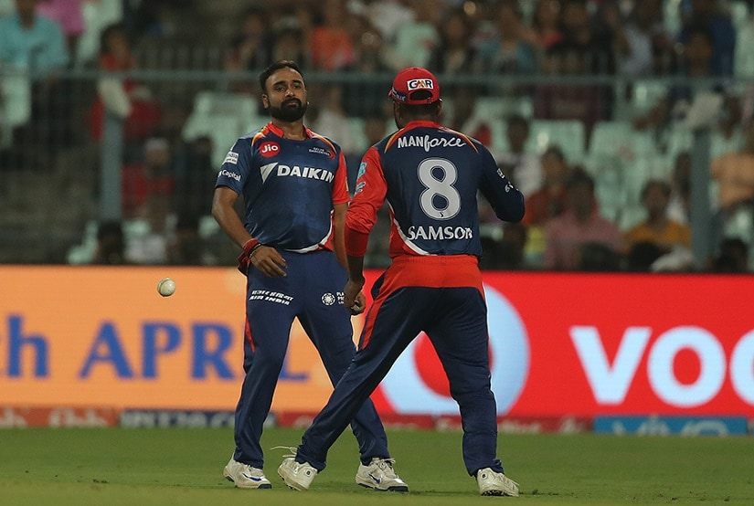 Both old hands such as Mishra and young guns such as Sanju Samson have been culprits of some shoddy catching and fielding this season. Source: BCCI