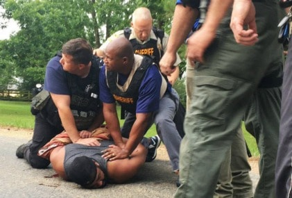 The Mississippi shooter caught by the sheriff and police. AP