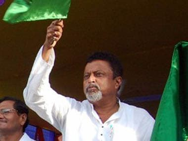File image of Mukul Roy. AFP