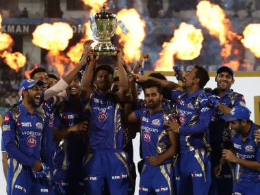 Mumbai Indians defeated bete noire Rising Pune Supergiant by 1 run in the final to win IPL 2017. Sportzpics