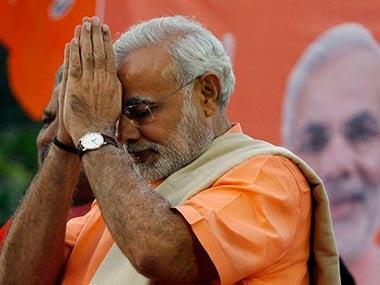 File image of Narendra Modi. AP
