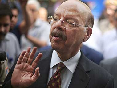 Chief Election Commissioner Nasim Zaidi. AP