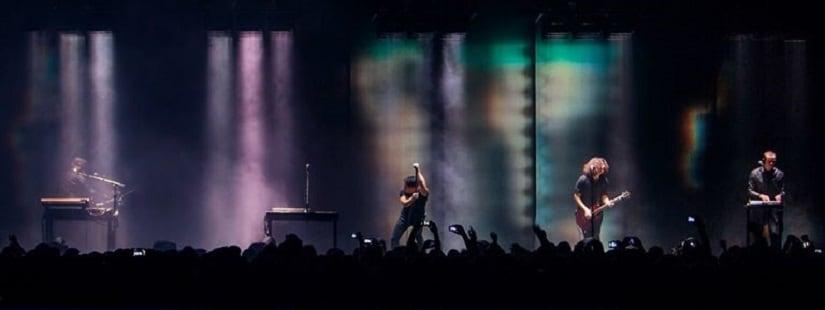 Nine Inch Nails. Image via Facebook