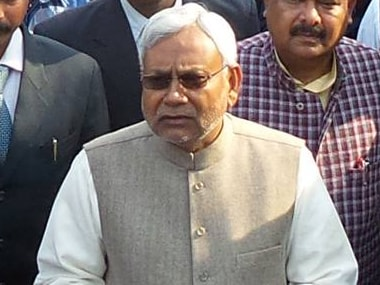 File image of Bihar CM Nitish Kumar.