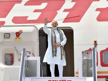 The Prime Minister, Shri Narendra Modi departs for four nation visit to Germany, Spain, Russia and France, from New Delhi, on May 29, 2017. PTI