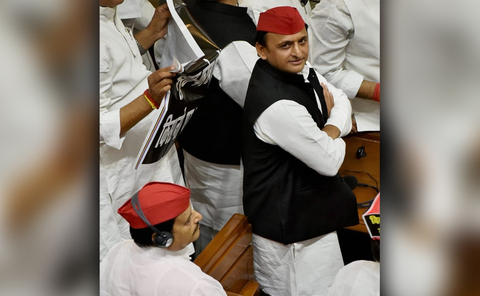 The opposition Samajwadi Party and Bahujan Samaj Party have decided to take on the Yogi Adityanath government on issue of raising communal violence in the state and increased attacks on minorities by right wing groups on issues like Beef and illegal slaughterhouses. <em>PTI</em>