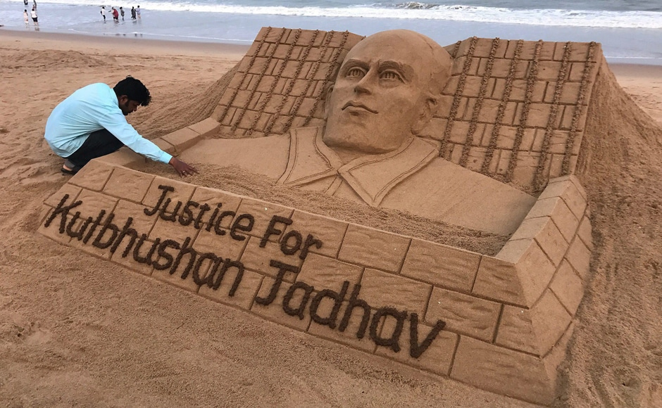 """There has been widespread protests throughout the country against the death sentence given to Jadhav. India has already warned Pakistan of dire consequences if it carries out the death sentence terming it nothing but a """"pre-meditated murder"""". PTI"""