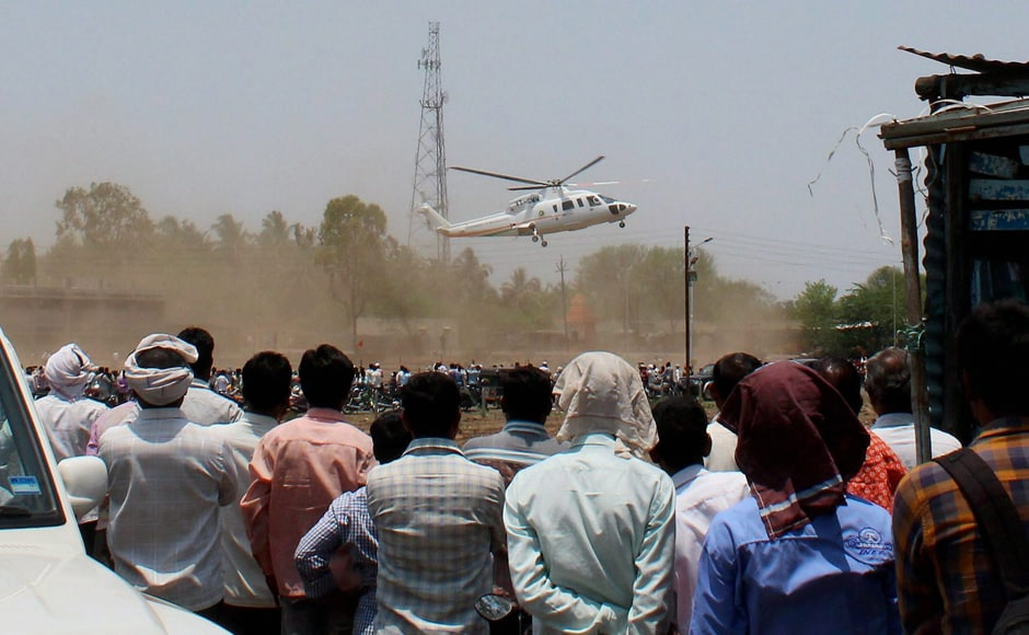 Maharashtra chief minister Devendra Fadnavis survived a major scare on Thursday, when a helicopter carrying him crash-landed in Latur. PTI