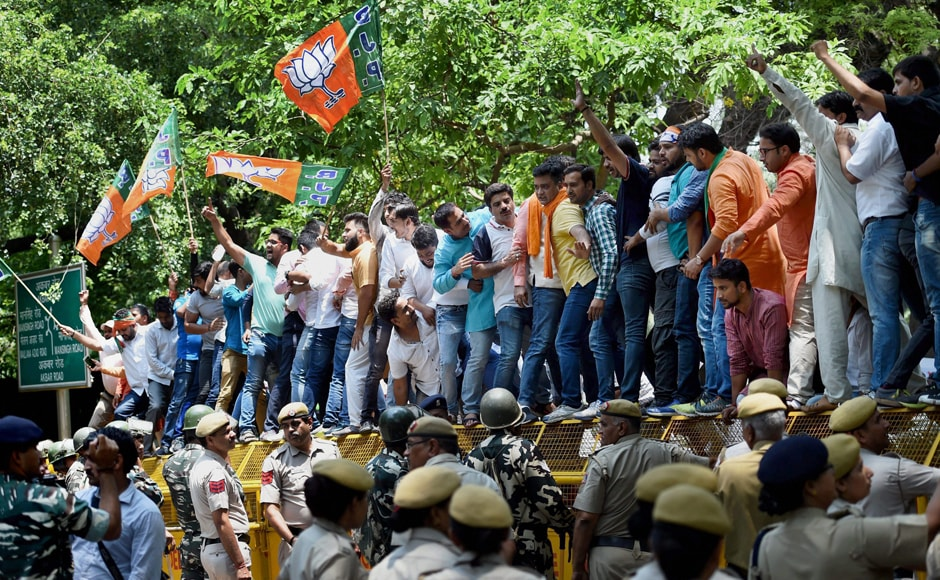 """The police has registered a case against the BJP workers in connection with the incident that was termed as """"barbaric and completely unacceptable"""" by Rahul Gandhi. PTI"""