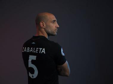 West Ham United sign Pable Zabaleta. Twitter/@WestHamHelp