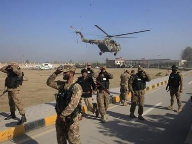 File photo of the Pakistan Army. Reuters