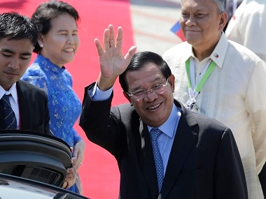 Prime Minister Hun Sen has threatened his opponents of military action