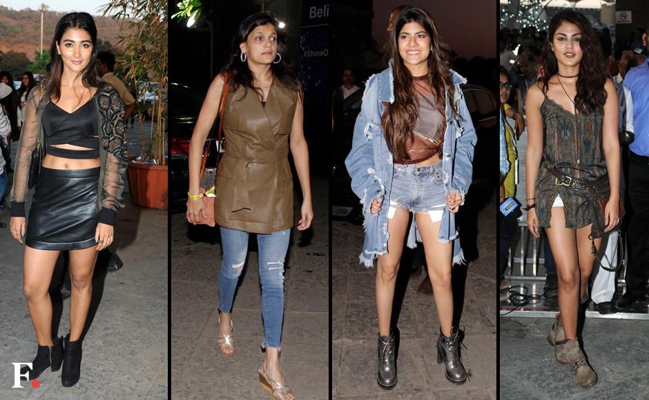 Other celebrity attendees at Bieber's gig included Pooja Hegde, Neerja Birla, Ananya Birla and Rhea Chakraborty. Photos: Sachin Gokhale/Firstpost