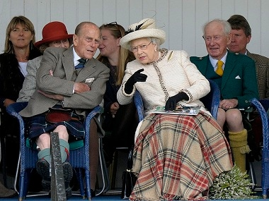 File image of Prince Phillip and Queen Elizabeth. AFP