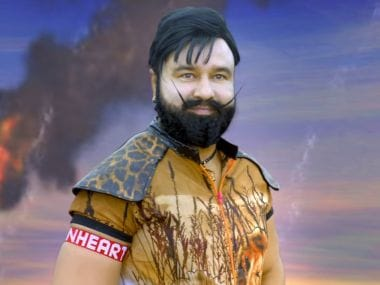 A still from the movie MSG Lion Heart 2 featuring