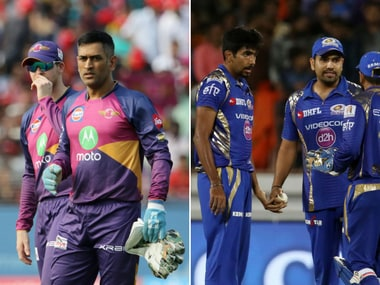 Rising Pune Supergiant and Mumbai Indians face off for the fourth time this season. Sportzpics