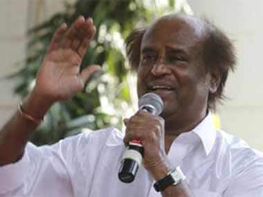File image of Rajinikanth. Courtesy: CNN-News18