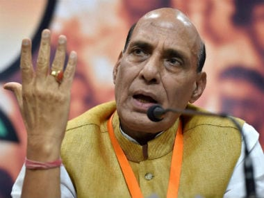 File image of Rajnath Singh. PTI