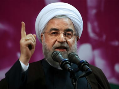 File image of Hassan Rouhani. AP