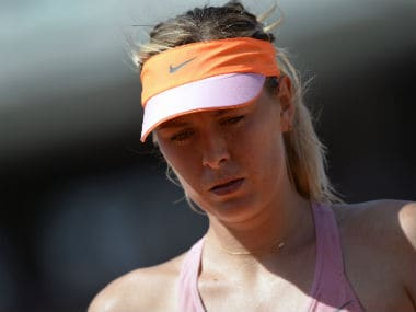 Maria Sharapova was denied a wild card entry for the French Open by FFT. AFP