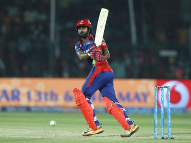 Shreyas Iyer's brilliant innings of 96 helped Delhi Daredevils to win over Gujarat Lions. SporrtzPics