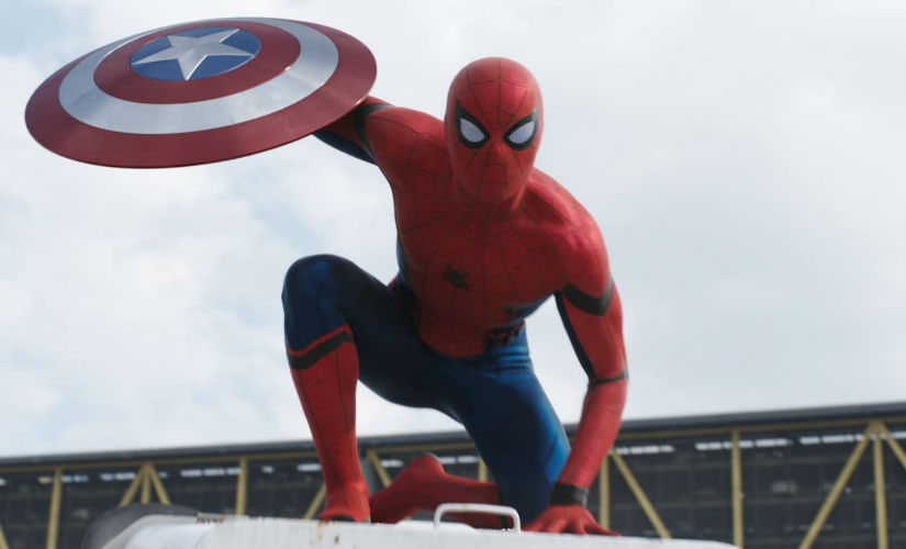 Holland's Spider-Man in Captain America: Civil War. Image courtesy: @SpiderManIN/Facebook