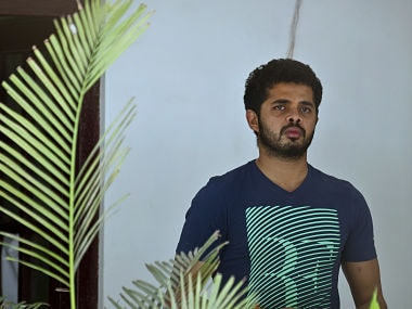 File photo of S.Sreesanth. AFP